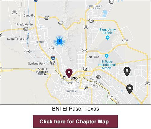 BNI El Paso Texas region