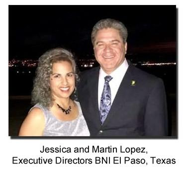 BNI El Paso - Jessica and Martin Lopez, Executive Director